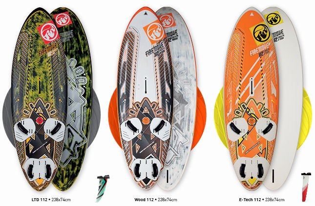 RRD Windsurfing Boards at Blue Chip